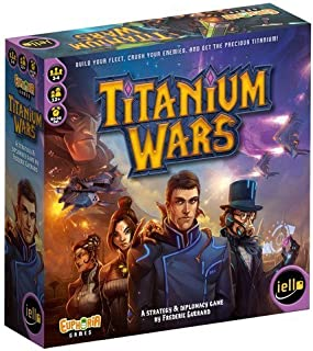 Titanium Wars Board Game by Flat River Group