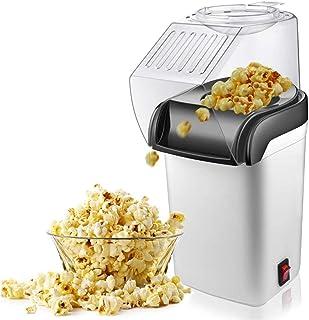 CCFFY Air Popcorn Popper Maker, Electric Hot Air Popcorn Machine, Oil-Free