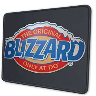 XinDas Personality Dairy Queen Ice Cream Logo Mouse Pad Slip Rubber Laptop & PC Mouse Mat