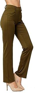 PREMIUM–Vestido para mujer pantalones de Slim o Bootcut–Todo el Día Confort en sólidos y Pinstripes por Arrogante