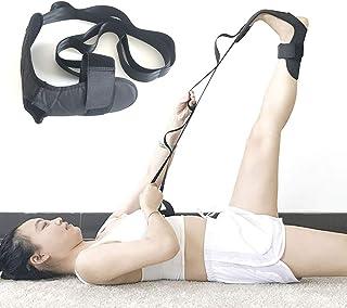 Fdrirect Cinto de ligamento de tornozelo, elástico auxiliar de ioga, faixa elástica de algodão de poliéster para perna, ci...