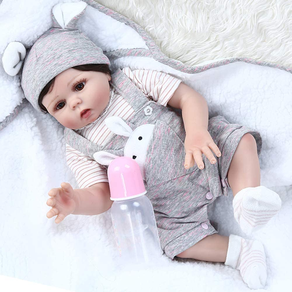 Reborn Baby Dolls 48CM Doll Soft Silicone Lifel Body Full Super beauty product restock quality Mesa Mall top