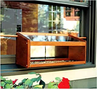 Best wooden window bird feeder Reviews