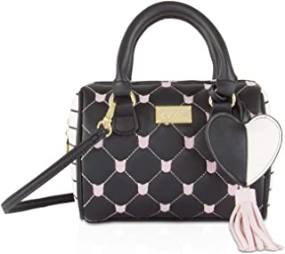 Betsey Johnson Womens Mini Satchel Crossbody