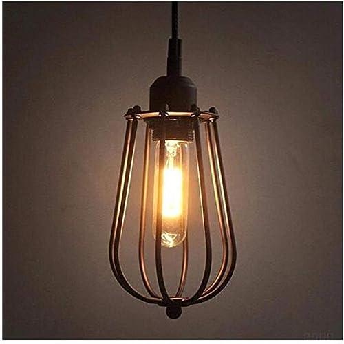Lampe de chevet Lettre créative au-dessus du rail Lustre Lounge Restaurant Chambre à coucher Couloir Réseau Cour, Rust 12  26 Cm [Classe énergétique A +++]