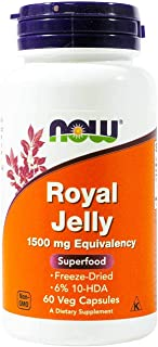 Now Foods, Royal Jelly 1500mg, 60 Capsules