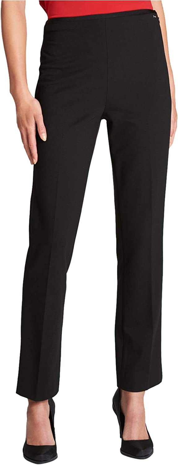 Dkny Womens SideZip Casual Trousers