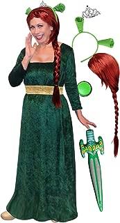 Sanctuarie Fiona Plus Size Supersize Halloween Costume Deluxe Wig Kit