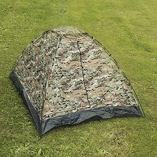 Tienda de campaña IGLÚ SANTARD para 2 Personas Camuflaje MULTITARN Camping de 3 Estaciones con Doble Techo 800mm, Tienda iglú 2 Personas Miltec