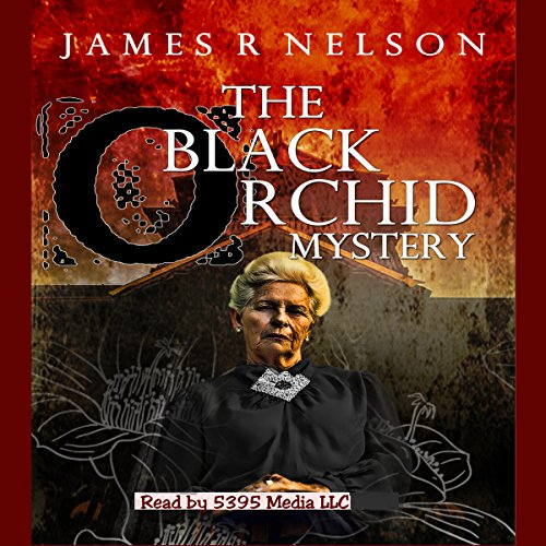 The Black Orchid Mystery audiobook cover art