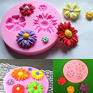 Silicone Flower Mold Cake Decorating Chocolate Sugar Craft Mould by MERRY BIRD