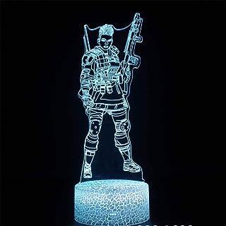 Lampe LED 3D Illusion Apex Legends Bangalore Accessoires de jeu pour bureau 16 couleurs Changement de Décoration - Cadeau ...