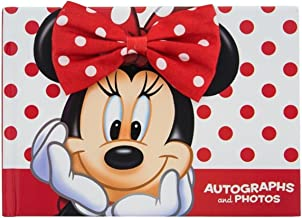 Disney Parks Minnie Mouse Autograph and Photo Book