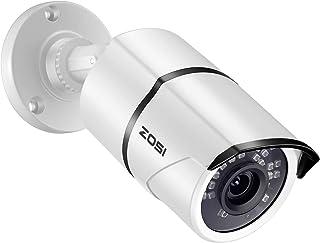 كاميرا أمان ZOSI 1080P 4 في 1 TVI/CVI/AHD/CVBS CCTV 36 IR LED رؤية ليلية خارجية 3.6 قدم 3.6 مم هيكل معدني من الألومنيوم، م...