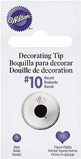 Wilton Decorating Tip, No.10 Round