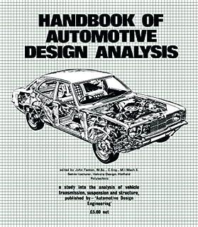 Handbook of Automotive Design Analysis