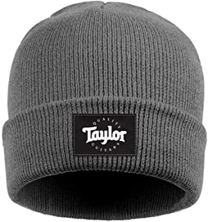 Heart Wolf Unisex Fine Knit Caps Taylor-Guitars-Logo- Winter Warm for Mens Womens Beanie Hats