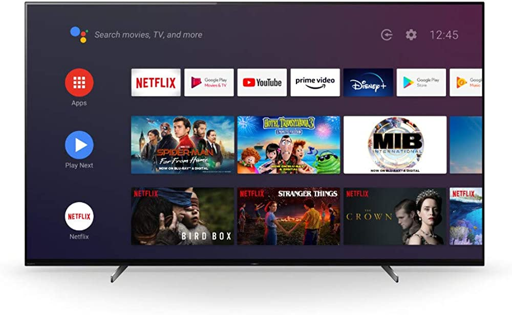 Sony televisore 55 pollici 4k ultra hd smart tv wi-fi KD55A89BAEP