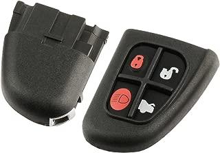 NHVWB1U241 XJ8 X-Type Car Key Fob Keyless Entry Remote Flip fits 2001 2002 2003 2004 2005 2006 2007 2008 Jaguar S-Type Set of 2