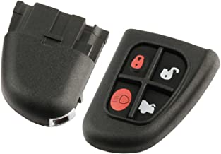 uxcell Replacement Keyless Entry Remote Car Key Fob KOBJTF10A 315Mhz for 2014-2017 Jaguar F-Type