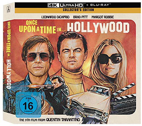 Once Upon A Time In… Hollywood [Limited Vinyl Collector's Edition] (Exklusiv bei Amazon.de) [Blu-ray]