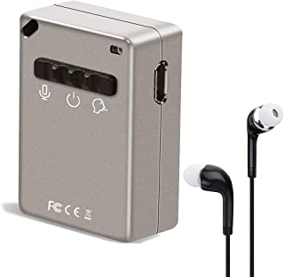 Digital Voice Recorder,eoqo Voice Activated Audio Recorder Playback by 3.5mm Plug Earphone - 15 hours Voice Recording - So...