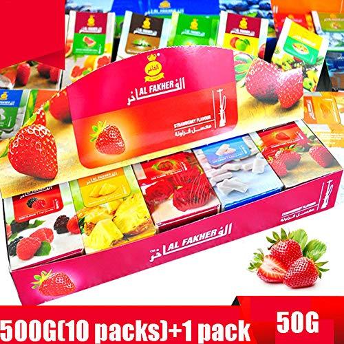 Pantheraa AL Fakher Shisha Flavour Hookah Accessories 500g Mixed Random (Fruit Series)