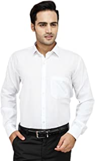 "Super weston Full Sleeve Slim Fit Plain Formal Shirt for Men,100% Cotton Shirts,Colour and Size Choose According 6 Colour avilable M=38"",L=40"",XL=42"""