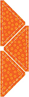 AccuQuilt Go Fabric Cutting Dies It Fits Quarter Square, 4-Inch Finished Triangle