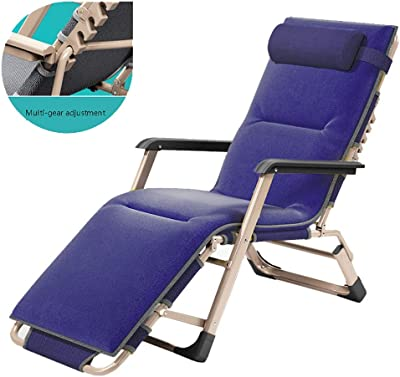 Amazon.com: Foldable Sun Loungers Deck Chairs Reclining ...