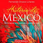Historia de México [History of Mexico] audiobook cover art