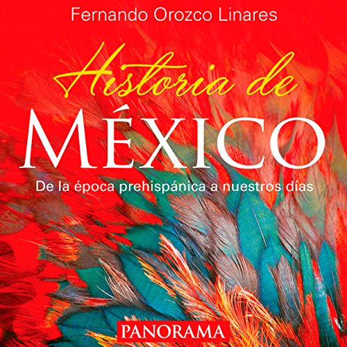 Historia de México [History of Mexico] audiobook cover art