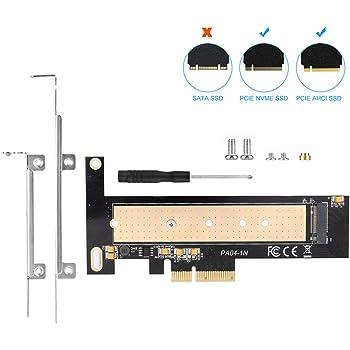 ELUTENG NVME M.2 to PCIe 拡張カード PCI-Express X4対応 M.2スロット接続 SSD M.2 変換 アダプター M.2 NVME PCIE 変換カード SSDデスクトップPC用 PCIEボード 2280 2260 2242 2230すべて対応