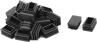 sourcingmap Cucina Camera plastica regolabile Cabinet Gambe pedale nero 4pz