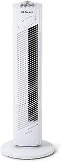 Orbegozo TW 0745 Ventilador de torre oscilante, 3 velocidadesfunción temporizador, silencioso, asa de transporte, 45 W de potencia