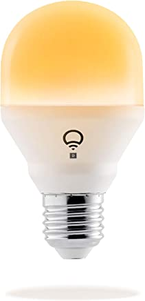 LIFX Mini Day & Dusk (E27) Wi-Fi Smart LED Light Bulb, adjustable, dimmable, no hub required, works with Alexa, Apple HomeKit and the Google Assistant