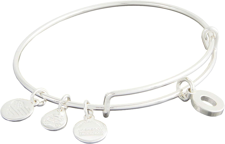 Alex and Ani Initial O III Bangle Bracelet