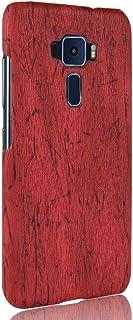جراب هاتف أسوس زين فون 3 ZE552KL جراب صلب درع 360 درجة يحمي هاتفك من الجلد المحبب جراب لهاتف أسوس زين فون 3 ZE552KL