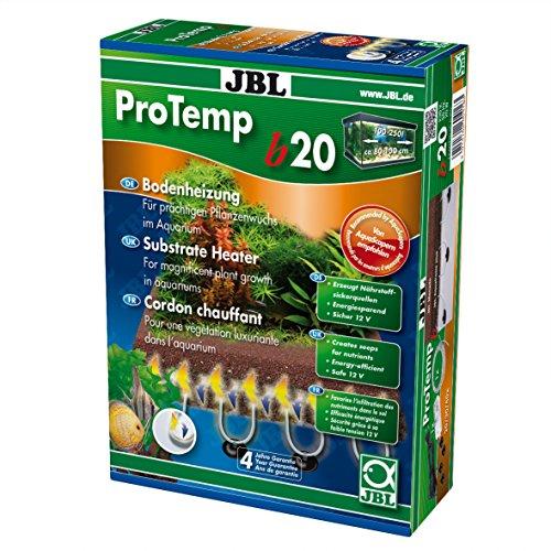 JBL ProTemp B20 - Calefactor de Suelo para acuarios de Agua Dulce y Salada, 100-250 litros