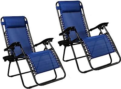 Astounding Amazon Com Best Choice Products Set Of 2 Adjustable Zero Cjindustries Chair Design For Home Cjindustriesco