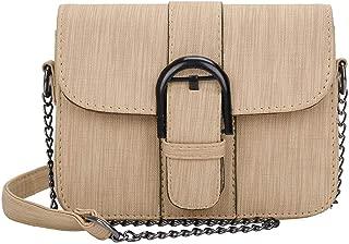 Everpert Fashion Teenage Girl Pu Chain Shoulder Bags Crossbody Messenger Bag