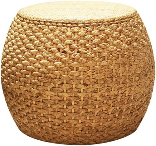 Accueil Tabouret Bas Balcon Tabouret Assise Bench Creative Canapé Tabouret Tabouret Table Basse Tabouret Chaise Straw Pier ZHANGAIZHEN (Taille   31  37cm)