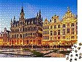 Bruselas,Bélgica Rompecabezas para Adultos 1000 Pieza,Madera Rompecabezas de la Familia de que el Juego de la Colección de Juego Educativo de Arte para la Pared del Dormitorio de la Decoración de las