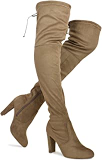 49703710e8ab0 Amazon.com: 6.5 - Over-the-Knee / Boots: Clothing, Shoes & Jewelry
