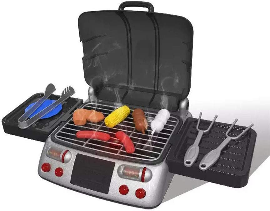 N Max 45% OFF C Toy Barbecue List price Set BBQ Toys Playset Kitchen Includ Cooking