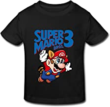 TBTJ Super Mario Bros 3 Shirt for Kids 2-6 Years Old