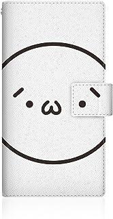 CaseMarket 【手帳型】 ARROWS NX (F-02G) スリムケース ステッチモデル [ ショボーン (´・ω・`) × (´・ω - ) 手帳 ] F-02G-VSB2S2636