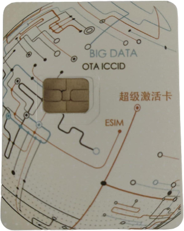 Smart Sim Reusable Unlock Card for iPhone Unlock Chip Card for Apple iPhone 11/12/Xs/MAX/XR/8/7/6/6S/5S/SE Plus/8 Plus Sim for iOS 14 Automatic ICCID Via OTA N2.