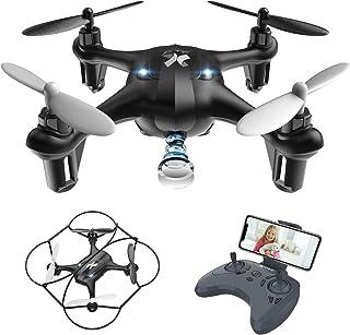 ATOYX Mini Drone con Cámara para Niños , AT-96 RC Quadcopt
