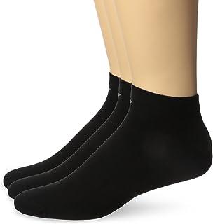 Emporio Armani, 3 Pares, zapatillas de deporte de 3 pares unisex llanura - selección de color: Color: Black | Size: 44-45 (Large)
